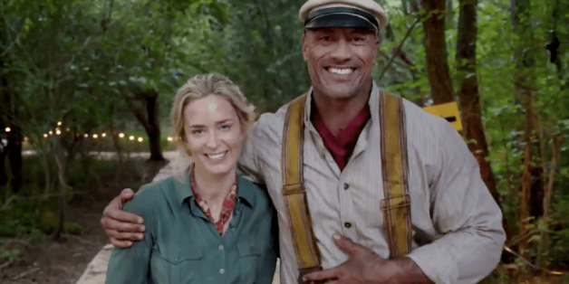 Emily Blunt and Dwayne Johnson are reuniting!