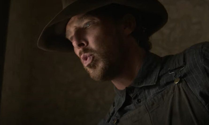 Psie Claws – trailer for a western with Benedict Cumberbatch!