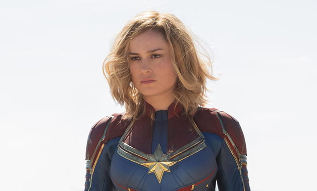 The Marvels – Brie Larson adds an old vibe to a workout video